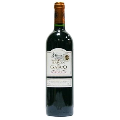 法国嘉斯克男爵干红葡萄酒